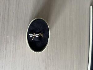 Links of London 18ct Gold & Diamond Dragon Fly Charm