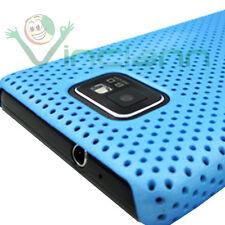 Custodia case rigida GRID AZZURRO per Samsung Galaxy S2 i9100 S II