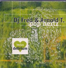 CD SINGLE 2 TITRES--DJ FRED & ARNOLD T--POP HERTZ--1997