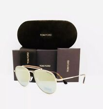 New Tom Ford Sunglasses TF 536 28G Shiny Rose Gold 60•14•145 With Case