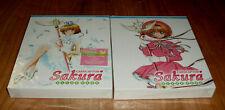 Card Captor Sakura Clear Card Ed.coleccionista Part 1-2 New 4 Br + 2 Books R2