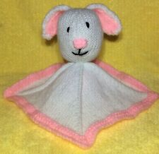 KNITTING PATTERN - Bunny Rabbit Comforter Baby Toy -Great for Easter and charity