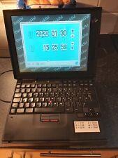 Vintage 1990s IBM Thinkpad 380ED Type 2635 Laptop + Power Cable circa 1997