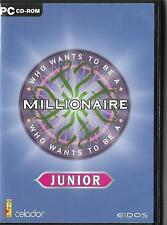 Who Wants to Be a Millionaire -- Junior Edition (PC: Windows, 2001)