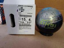 New listing New 15lb Radical Zing Hybrid Bowling Ball 12152