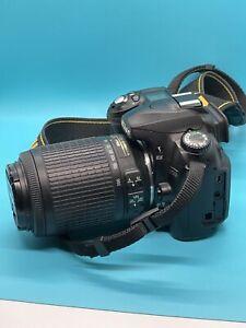 Nikon D50 Digital SLR Camera - Black (Kit w/ AF-S DX 55-200mm lens Lens)