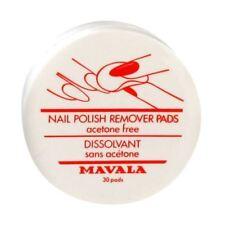 Mavala Nail Polish Remover Pads Acetone Free (30 Pieces)