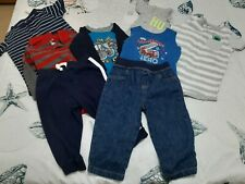 24 M Baby Boy Clothes(Bodysuits;Jean;Pant;Long,Short Sleeve & Sleeveless Romper)