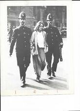 VINTAGE GLOSSY 8x10 PHOTO OF THE ARREST OF BRITISH SUFFRAGIST--MRS. PANKHURST?