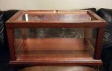 Wood Display Case for Franklin mint  etc.