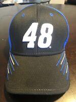 Jimmie Johnson Hat # 48 Hendrick Motorsports blue Nascar one size fits most