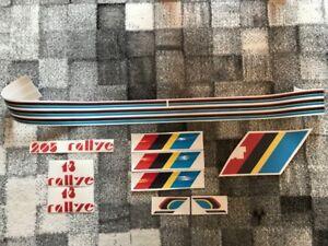 KIT COMPLET, Stickers autocollants, Peugeot 205 Rallye Talbot Sport