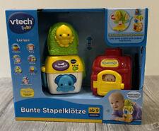 Vtech Baby Bunte Stapelklötze  Lernen ab 9 Mon. Stapel Klötze Melodien R9/2