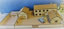 15mm Large walled farm / manor house barn  and walled garden 91x482x254mm FOW
