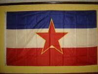 Yugoslavia Flag (90 x 150 cm - 5 ft x 3 ft )