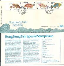 Hong Kong FDC: 1981 ~ Hong Kong Fish ~
