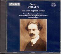 Strauss Oscar: Su la Mayor Parte Popular Obras / Alfred Walter,Budapest Sym - CD