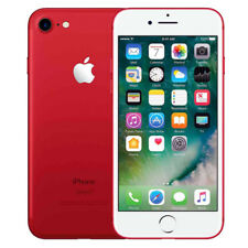 """Apple iPhone 7 128GB """"Factory Unlocked"""" (PRODUCT)RED 4G LTE iOS Smartphone"""