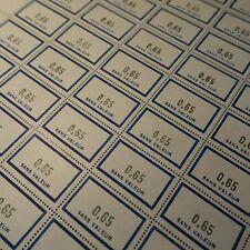 FEUILLE SHEET FRANCE TIMBRE FICTIF N°150 x50 1961 NEUF LUXE ** MNH