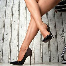 SeXy Luxus Farbverlauf Pumps Damen Lack Spitze Schuhe Party High Heels Stilettos