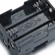 9V Battery Holder for 6AA Batteries with Standard Snap Connector 57*45*28mm.