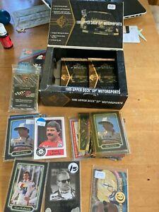 NASCAR lot 1995 UPPER DECK SP Racing 17 packs + card lot Petty