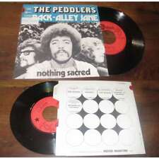 THE PEDDLERS - Back Alley Jane Rare French PS 7' Jazz Funk Prog 72 W/Languette