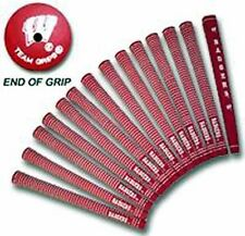 UNIVERSITY OF WISCONSIN BADGERS GOLF GRIPS FULL SET NEW