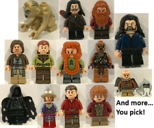 Lego Minifigures Lord of the Rings Hobbit YOU CHOOSE