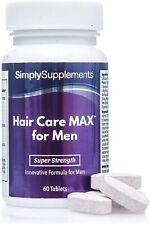 Hair care max uomo - integratore per capelli - 60 compresse - SimplySupplements