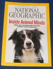 NATIONAL GEOGRAPHIC MAGAZINE MARCH 2008 - ANIMAL MINDS/ICELAND/BHUTAN