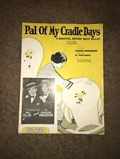 Pal Of My Cradle Days A Beautiful, Mother Waltz Ballad By Marshall Montgomery