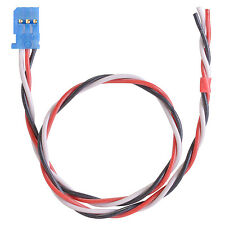 Servo connection cables Futaba 0.34 m2 twisted Silicone 11 13/16in partCore