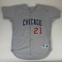 Russell Athletic Jersey Sammy Sosa 48 Vintage Chicago Cubs Jersey MLB Diamond