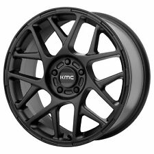 "KMC 17x8 KM708 Bully Wheel Satin Black 5x110 PCD +38mm Offset 6.00""BS"