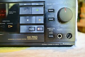 SONY TC-RX60ES Stereo Cassette Deck. HX PRO Made in Japan