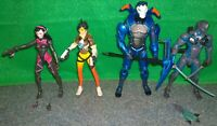McFarlane Hasbro Fortnite + Overwatch Figure Lot - Carbide, Genji, Tracer, D.Va