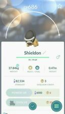 Shieldon #410 Pokemon Go ✔ Rare Pokemon ✔ 100% Quick & Safe
