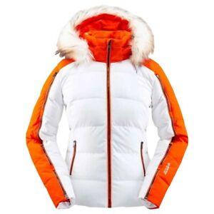 Spyder Falline GTX Infinium Down Jacket / Women's 8 / White - MSRP $600