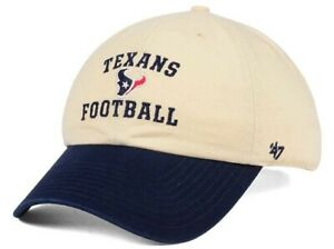 Houston Texans NFL 47 Brand Steady Two Tone Adjustable Hat