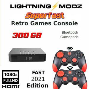 Retro Games Multi System, Arcade Machine, HDMI, Plug&Play, 4gb Ram Fast Fun