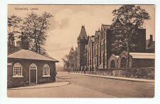 University Showing New Wing College Road Leeds Yorkshire c1904 Lodge House WR&S