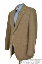 PAUL STUART Brown Herringbone ESCORIAL WOOL Blazer Sport Coat - BESPOKE 40 S