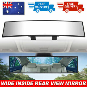 300mm Universal Wide Angle Rear View Mirror Anti Glare Rearview Large Vision Kit