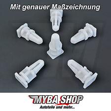 20x barra di ingresso clip di fissaggio BMW e34 e36 e38 e39 e46 in bianco #neu #