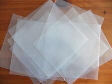 "10 x 7"" inch Vinyl Single Plastic Polythene Record Sleeve Covers 450 Gauge RSD17"