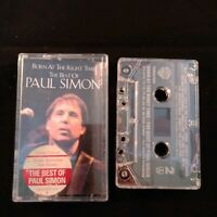 Cassette Tape The Best of Paul Simon Born at the Right Time