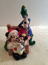 Schmid Walt Disney Mickey & Goofy , Minnie Mouse Music Box On And off Switch