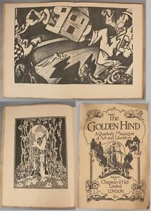 Vol.1 No.4, Antique, THE GOLDEN HIND Magazine Avant-Garde Lithographs