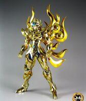 Saint Seiya Myth Cloth EX Aioria de Leo Soul of Gold, Metal Club Gold Caballero
